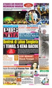 Cover Pos Kota 23 Juni 2019