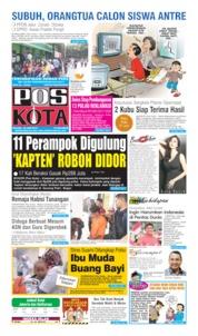 Cover Pos Kota 25 Juni 2019