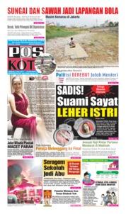 Cover Pos Kota 07 Juli 2019