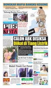 Cover Pos Kota 10 Juli 2019