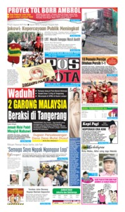 Pos Kota Cover 11 July 2019