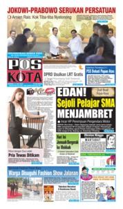 Pos Kota Cover 14 July 2019
