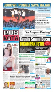 Pos Kota Cover 15 July 2019