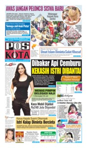 Pos Kota Cover 16 July 2019