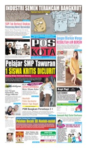 Pos Kota Cover 18 July 2019