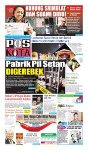 Pos Kota Cover 20 July 2019