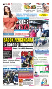 Pos Kota Cover 21 July 2019