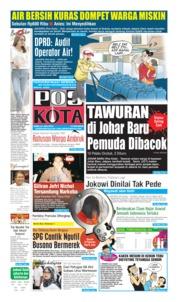 Cover Pos Kota 24 Juli 2019