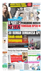 Cover Pos Kota 26 Juli 2019