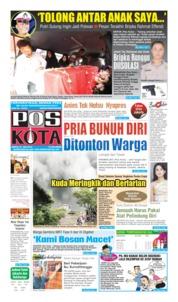 Cover Pos Kota 27 Juli 2019