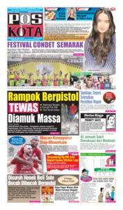 Cover Pos Kota 28 Juli 2019