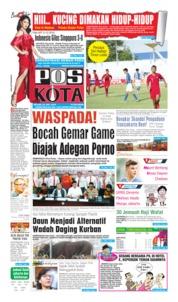 Cover Pos Kota 29 Juli 2019