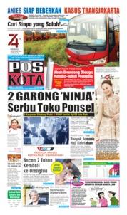 Cover Pos Kota 31 Juli 2019