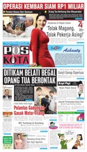 Cover Pos Kota 01 Agustus 2019
