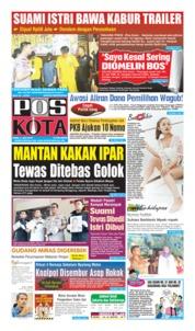 Cover Pos Kota 03 Agustus 2019