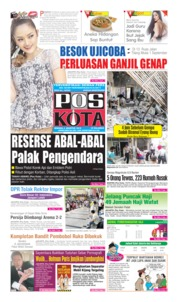 Cover Pos Kota 04 Agustus 2019