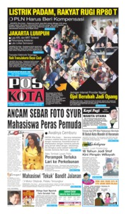 Cover Pos Kota 05 Agustus 2019
