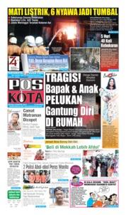 Cover Pos Kota 06 Agustus 2019