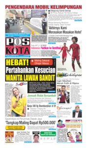 Pos Kota Cover 13 August 2019