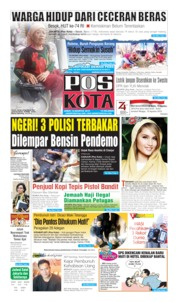 Pos Kota Cover 16 August 2019