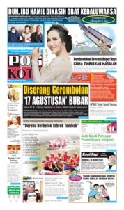 Pos Kota Cover 19 August 2019