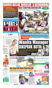 Pos Kota Cover 23 August 2019