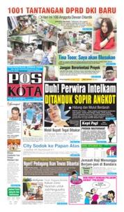 Cover Pos Kota 26 Agustus 2019