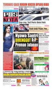 Cover Pos Kota 08 September 2019