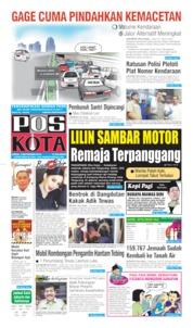 Cover Pos Kota 09 September 2019