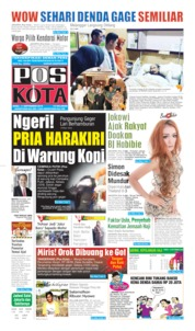 Cover Pos Kota 11 September 2019