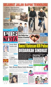 Cover Pos Kota 12 September 2019