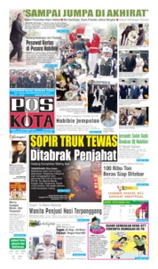 Cover Pos Kota 13 September 2019