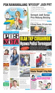 Pos Kota Cover 17 September 2019