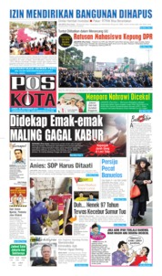 Cover Pos Kota 20 September 2019