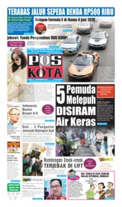 Pos Kota Cover 21 September 2019