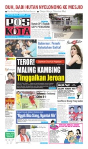Cover Pos Kota 23 September 2019