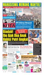 Pos Kota Cover 25 September 2019