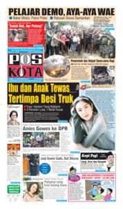 Pos Kota Cover 26 September 2019