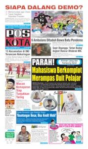 Pos Kota Cover 27 September 2019