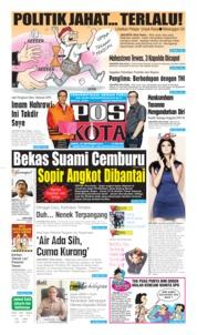 Pos Kota Cover 28 September 2019