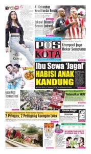 Pos Kota Cover 29 September 2019