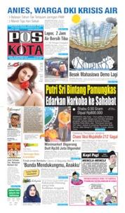 Pos Kota Cover 30 September 2019