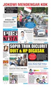 Pos Kota Cover 01 October 2019