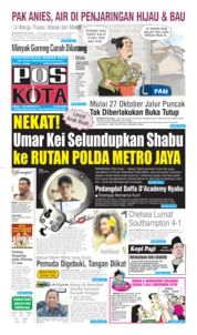 Cover Pos Kota 07 Oktober 2019
