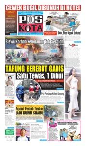 Cover Pos Kota 08 Oktober 2019