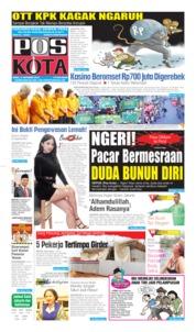 Cover Pos Kota 09 Oktober 2019