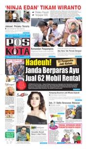 Cover Pos Kota 11 Oktober 2019