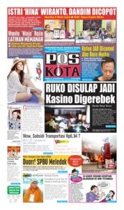 Cover Pos Kota 12 Oktober 2019