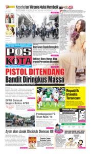 Cover Pos Kota 13 Oktober 2019