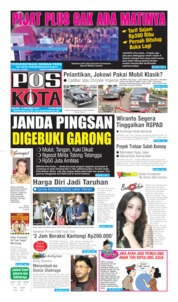 Pos Kota Cover 15 October 2019